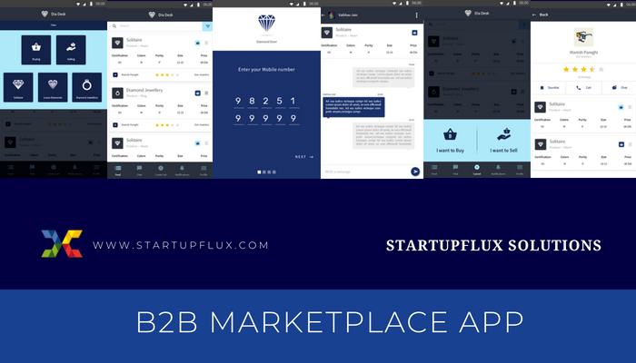 B2B Market place app